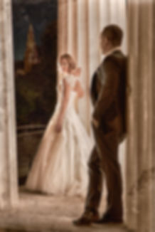 Hochzeitsfoto Brautkleid Tempel Wien by Thomas Jahn