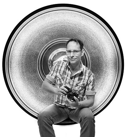 Portrait Fotograf Thomas Jahn Kamera Blitz