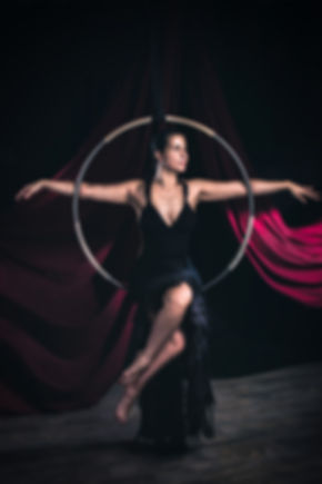 Fine Art Fotografie Hoopdance by Thomas Jahn