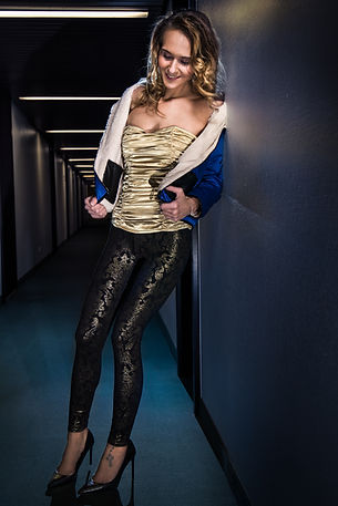 Jacke Leggins Model by Thomas Jahn
