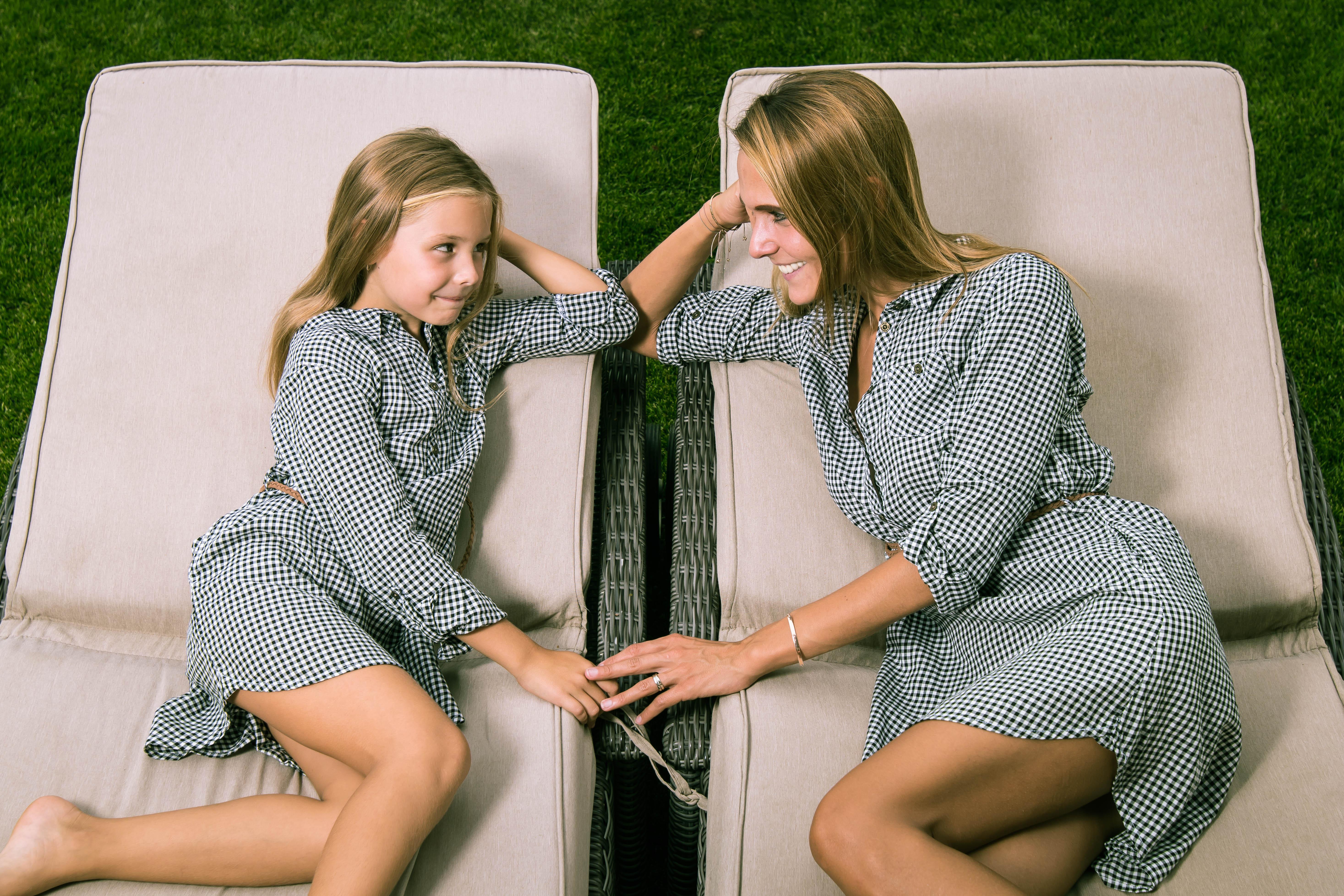 Mutter und Tochter Portrait