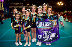 First place GRAND champions!