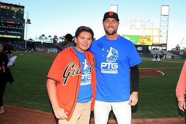 Luke T. Anderson with MLB Baseball Player Hunter Strickland