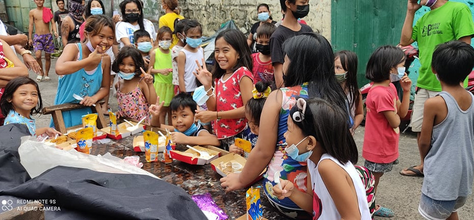 Para Ti Global Feeding in Caloocan, Philippines|July 18th, 2021