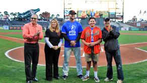 Luke T. Anderson SF Giants Home-Plate Jefferson Award