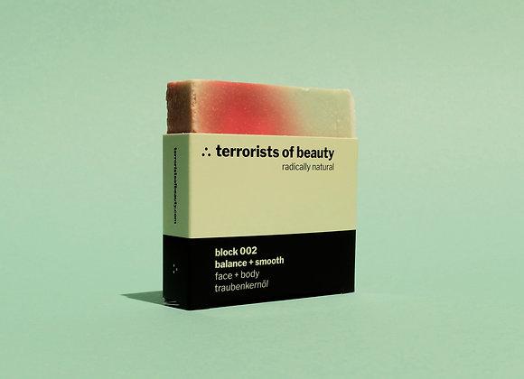 Terrorists of Beauty Seife block 002: Balance + Smooth