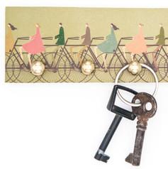 Schlüsselbrett-Fahrrad-bronze-stadtkutte