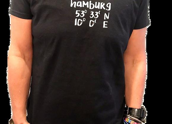 Kleiderfee Shirt für Mädels Hamburg in Schwarz