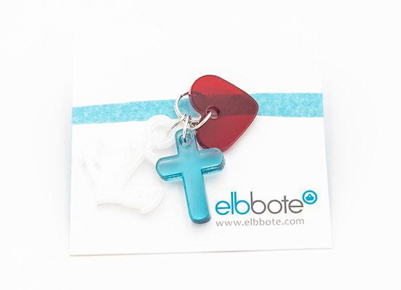 elbbote Anhänger Glaube-Liebe-Hoffnung
