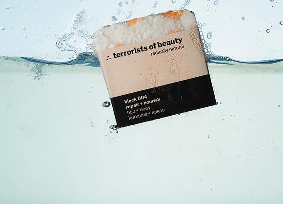 Terrorists of Beauty Seife block 004: Repair + Nourish