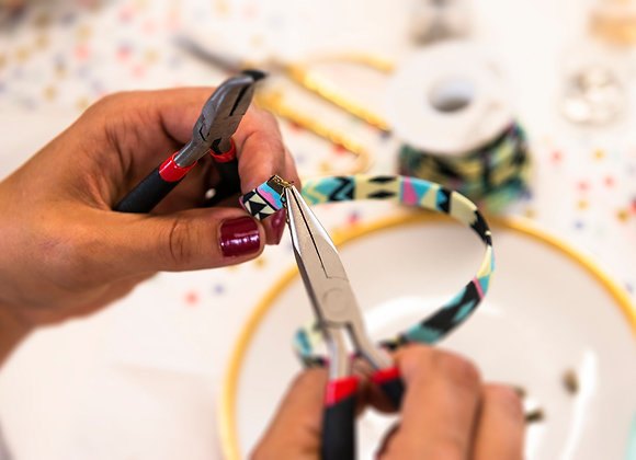 Wolkenfabrik DIY-Schmuck Set für zu Hause Armbänder verschiedene Varianten