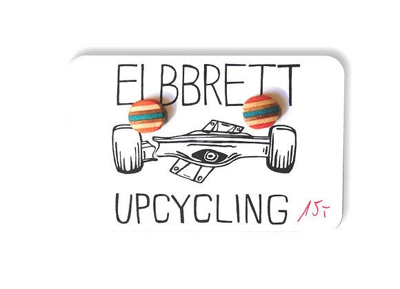 Elbbrett Ohrstecker aus alten Skateboards Unikat