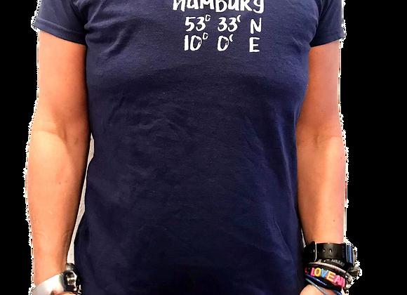 Kleiderfee Shirt für Mädels Hamburg in Blau