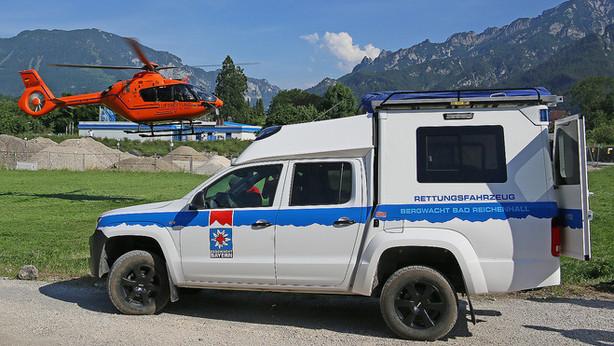 """🚨 28.06.2021 Bergwacht & """"Christoph 14"""" retten erschöpften Wanderer"""