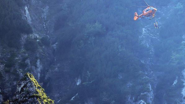 🚨10.09.2021  59-jähriger sitzt im brüchigen Absturzgelände im nördlichen Lattengebirge fest