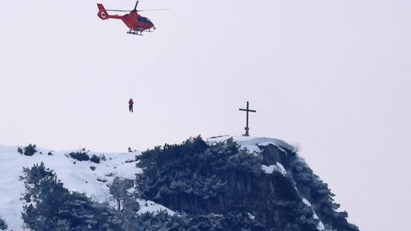 🚨27.02.2021  29-Jähriger gerät am Gipfel des Karkopfs wegen Schnee und Nebel in Bergnot