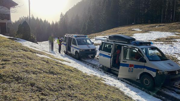 🚨26.02.2021 Bergwacht rettet verirrten und abgerutschten Wanderer
