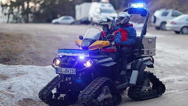 🚨24.02.2021 Bergwacht rettet unverletzten 55-Jährigen wegen des vielen Altschnees aus Rinne
