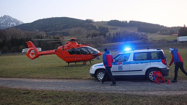 🚨23.02.2021 28-jähriger Wanderer stirbt nach erfolglosen Wiederbelebungsversuchen am Teisenberg