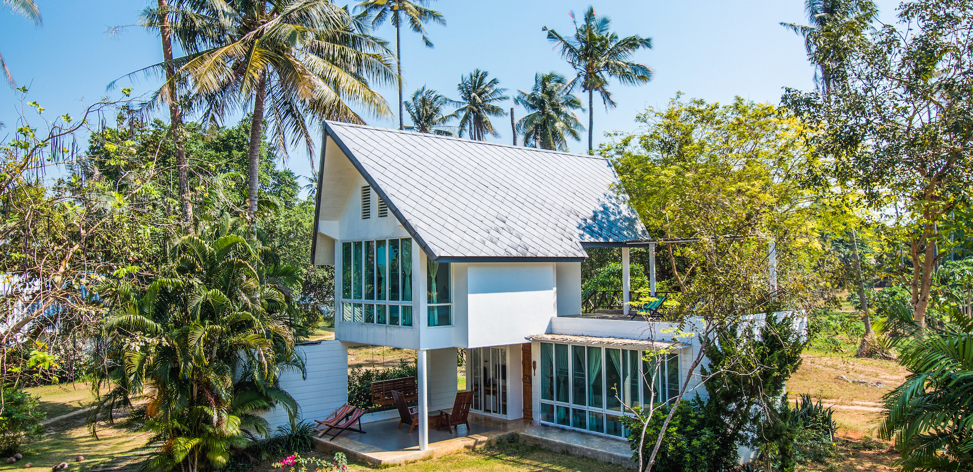 Thailand Yoga Holidays Destination Paradise Island Bungalow