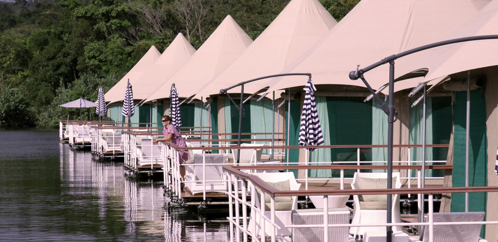 Thailand Yoga Holidays Destination River Resort Floating Bungalows