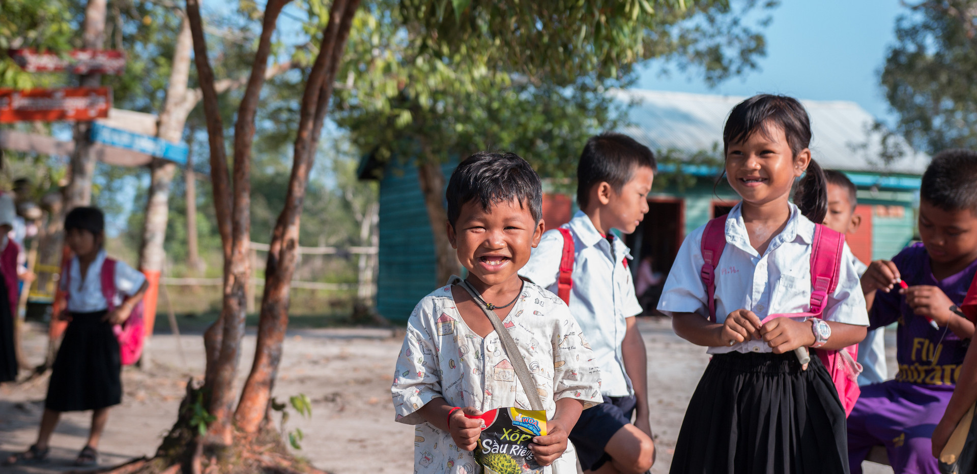Thailand Yoga Holidays Destination River Resort Local School Project