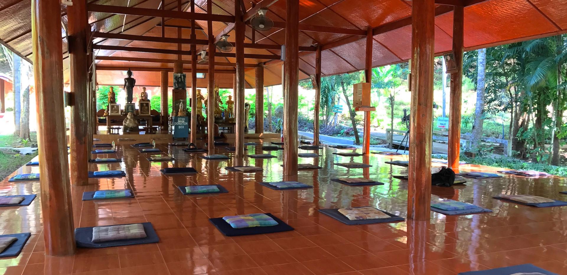 Thailand Yoga Holidays Destination Forest Meditation Center Yoga Sala