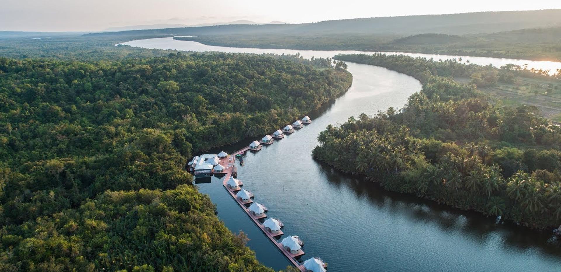 Thailand Yoga Holidays Destination River Resort Video