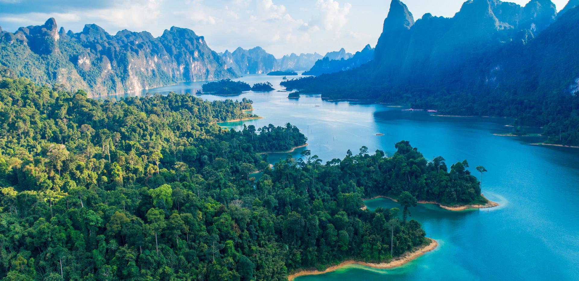 Thailand Yoga Holidays Destination Jungle Treehouse Topview