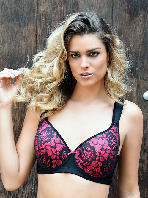 Brassier with lace 6044