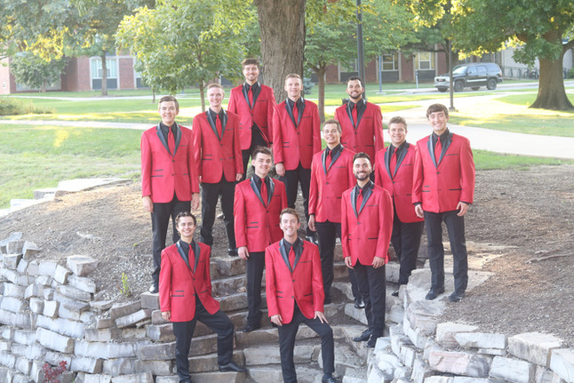 Men of the Univery Singers Glee Club