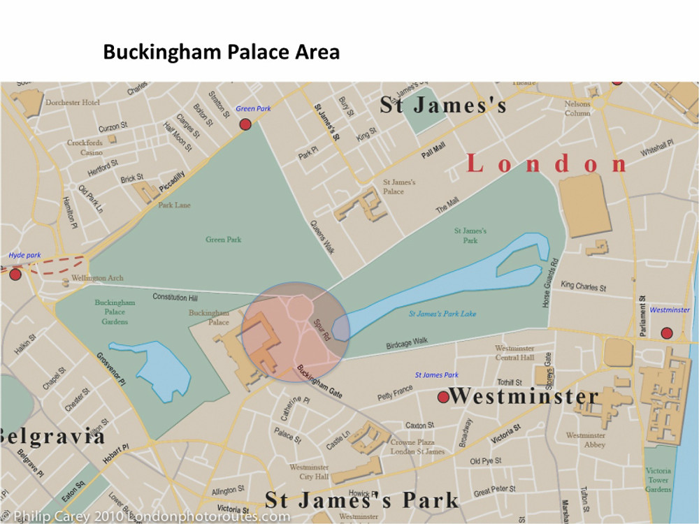 buckingham palace map