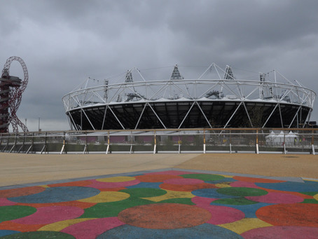 12 Images of the London Olympics 2012 Remembered – Olympic Park  London Preparing for the Olym