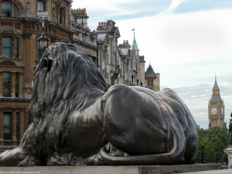 12 Pictures of Trafalgar Square's Statues and Monuments