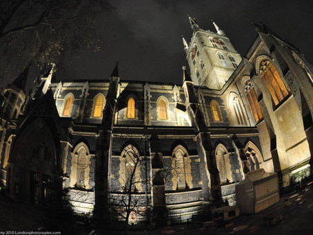 12 Different Views of Southwark Cathedral