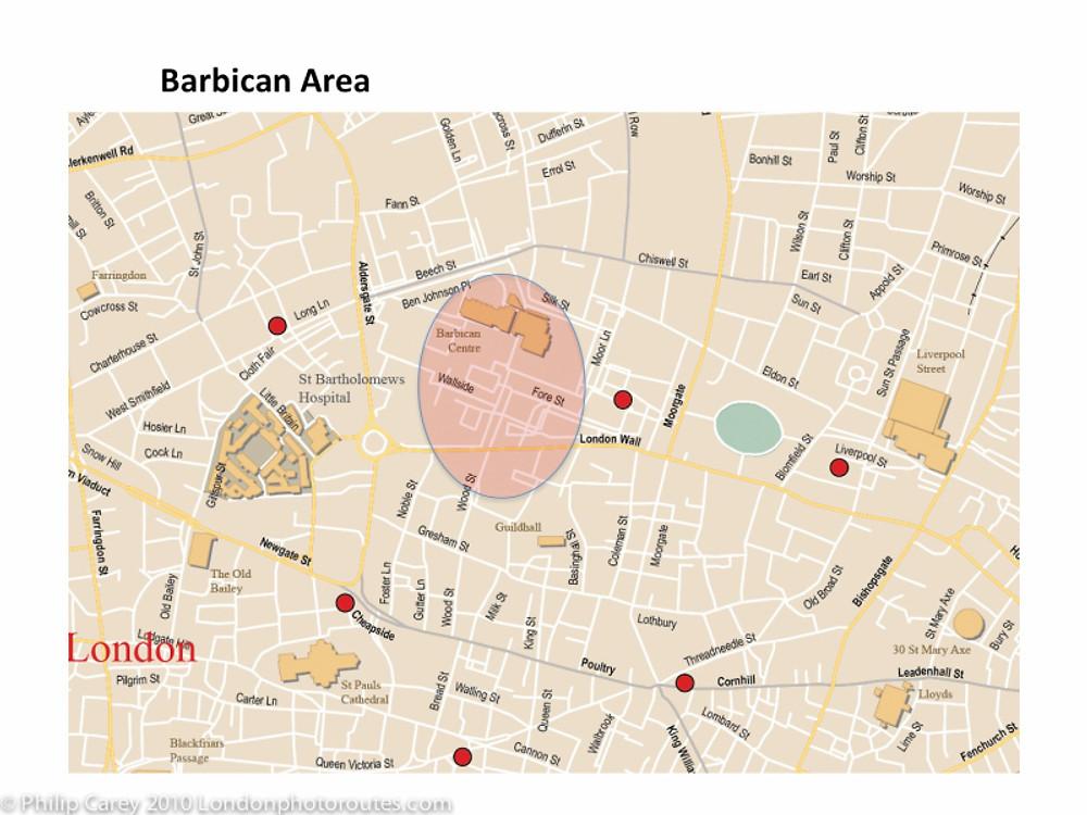 barbican map