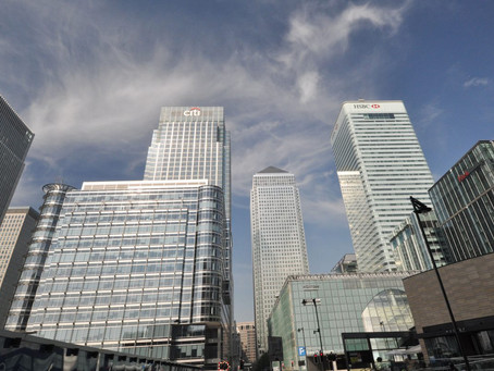 12 Views around Canary Wharf Central – East London
