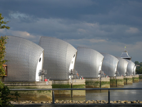 12 Images Part 1 – Across London Photo Route. Thames Barrier to Excel Centre