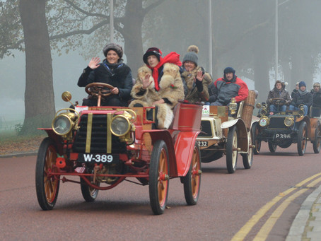 20 Images of the LONDON TO BRIGHTON VETERAN CAR RUN 2015 – from Westminster