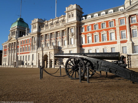 12 Statues in Whitehall and Horse Guards – Westminster