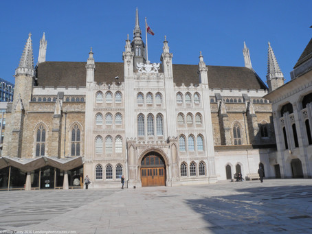 14 Views from around the Guildhall Area – City of London