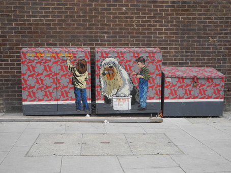 12 images of Street Art – City of London – East Side