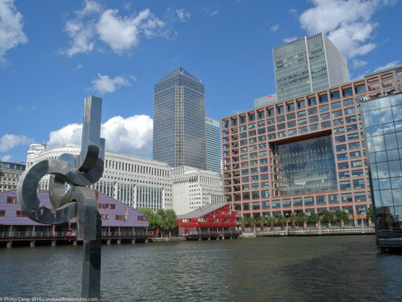 Part 4 Across London Tour – South Dock to Canary Wharf