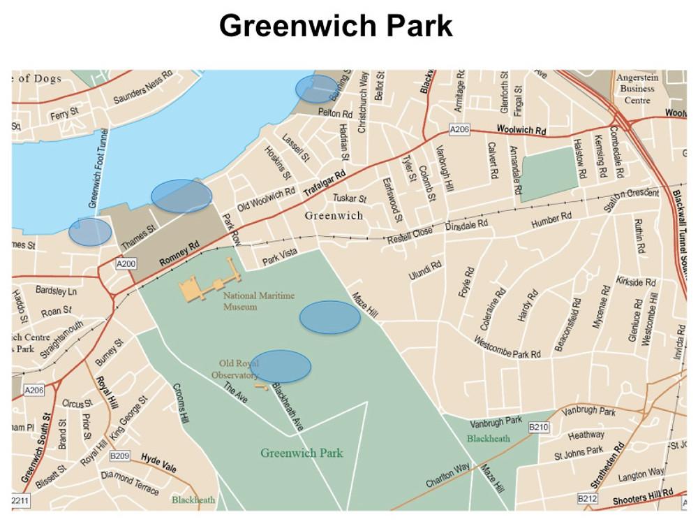 greenwich map