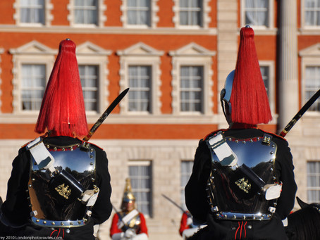 12 Images around  Horse Guards Parade – Central London