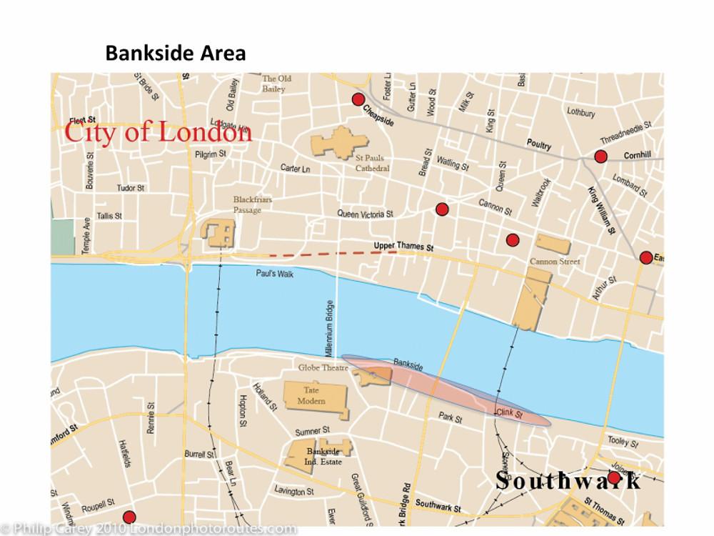 Bankside map