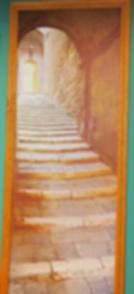Anciet Clay Hallway Doorway 1