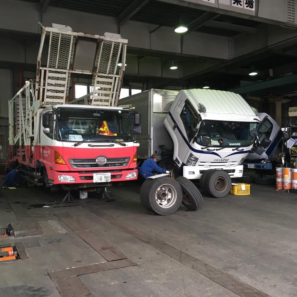 特種車両の車検整備