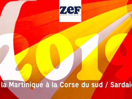 Notre programme 2019 : Antilles / Corse du sud & Sardaigne