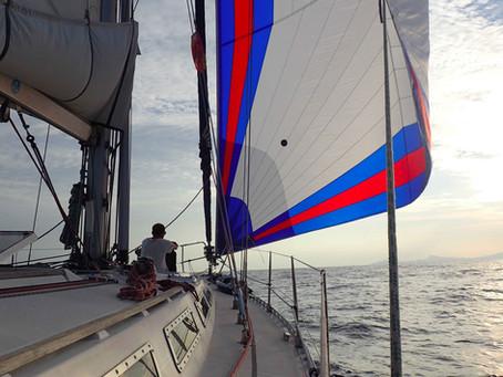 Le gennaker, nouvelle beauté du bord / Our new star on board